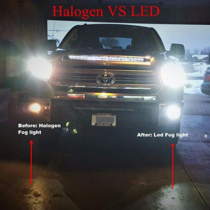 LED Versus Halogen Fog Lights