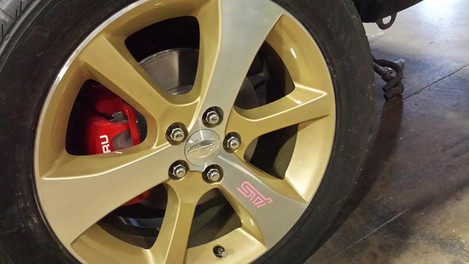 Painting alloy rims - Automotive Demand